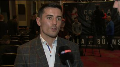 Crolla: I'll go to war with Burns