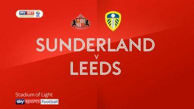 Sunderland 2-0 Leeds