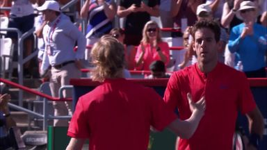 Shapovalov v Del Potro: Highlights