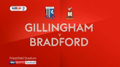 Gillingham 0-1 Bradford