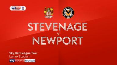 Stevenage 3-3 Newport