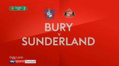 Bury 0-1 Sunderland