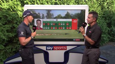 Stenson celebrates Wyndham win