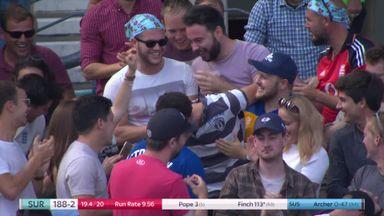 Catch earns fan £1,000