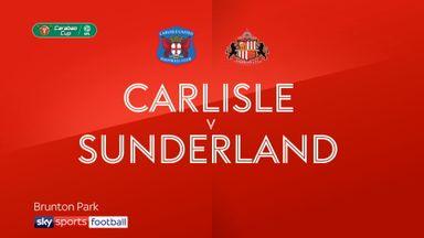Carlisle 1-2 Sunderland