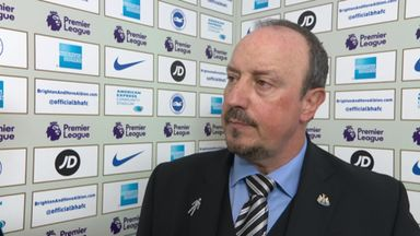 Defeat disappoints Benitez