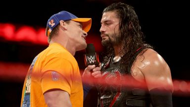 Cena vs Reigns: War of words