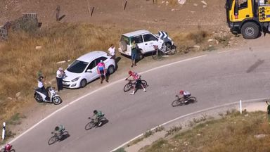 Froome crashes twice as lead is reduced