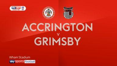 Accrington 1-2 Grimsby