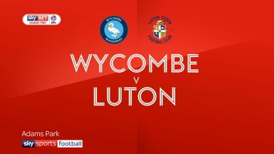 Wycombe 1-2 Luton