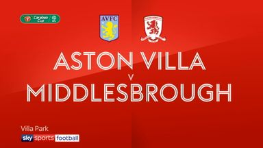 Aston Villa 0-2 Middlesbrough