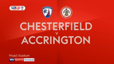 Chesterfield 1-2 Accrington