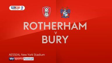 Rotherham 3-2 Bury