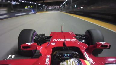 Vettel's Singapore pole analysed