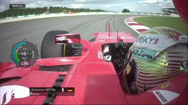 Vettel out of Q1 in Malaysia