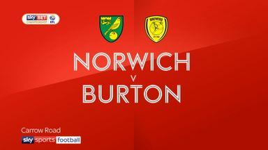 Norwich 0-0 Burton