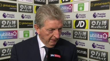 Hodgson: We looked nervous