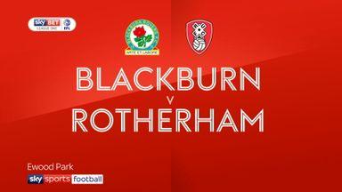 Blackburn 2-0 Rotherham
