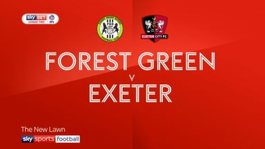 Forest Green 1-3 Exeter
