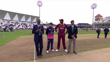 England v Windies 2nd ODI: Toss