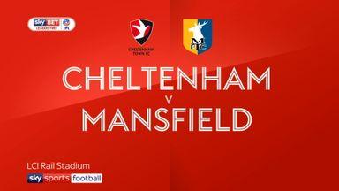 Cheltenham 3-0 Mansfield