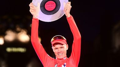 Froome savours Vuelta success