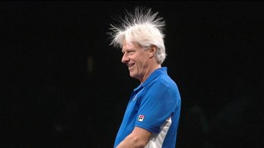 Hair-raising experience at the Laver Cup