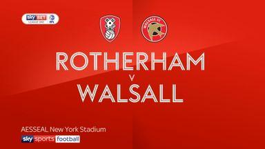 Rotherham 5-1 Walsall