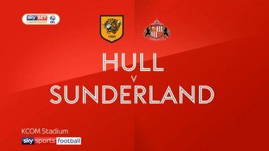 Hull 1-1 Sunderland