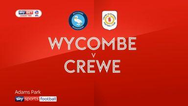Wycombe 3-2 Crewe