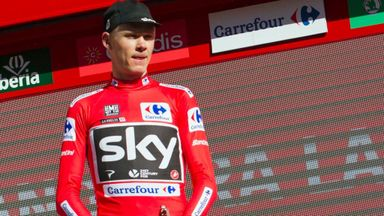 Froome closing in on Vuelta