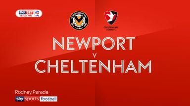 Newport 1-0 Cheltenham