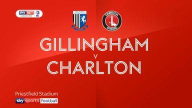 Gillingham 1-0 Charlton