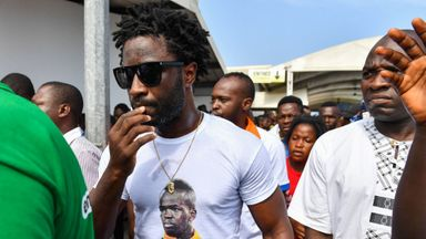 Bony sings on Swansea return