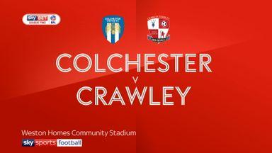Colchester 3-1 Crawley