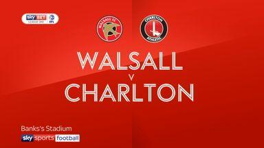 Walsall 2-2 Charlton
