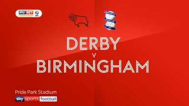 Derby 1-1 Birmingham