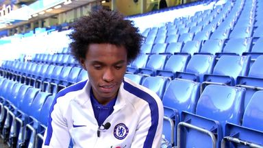Willian aiming for back to back Premier League titles