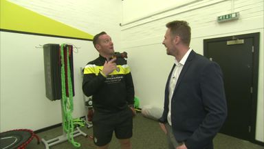 Nolan gives Soccer Saturday a guided tour