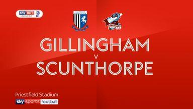 Gillingham 0-0 Scunthorpe