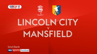 Lincoln 0-1 Mansfield
