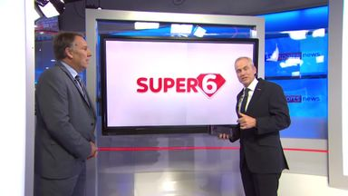 Merson's Super Six predictions!