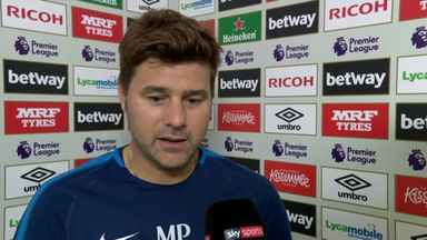 Pochettino: We were better side