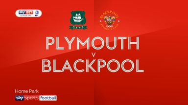 Plymouth 1-3 Blackpool