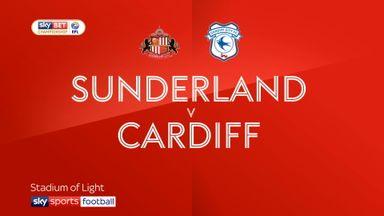 Sunderland 1-2 Cardiff