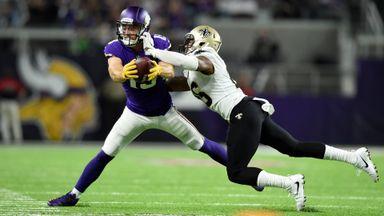 Saints 19-29 Vikings