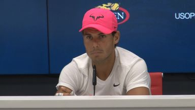 Nadal not concerned with catching Federer