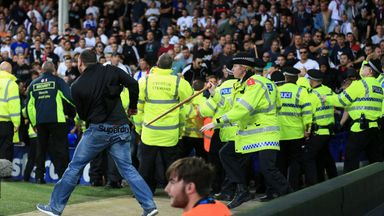 Everton fined over Hajduk trouble