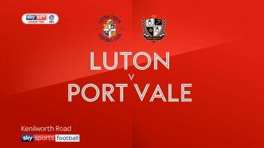 Luton 2-0 Port Vale
