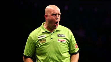 World Matchplay: MVG v Taylor